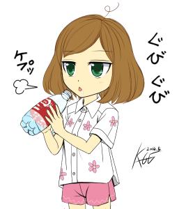 炭酸水(゚д゚)ウマー!